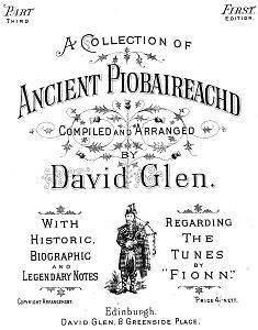 Cover from Glen's Ancient Piobaireachd